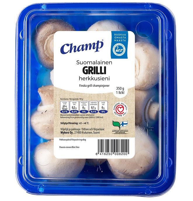 Champ GRILLI, 350 g (kausituote)