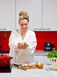 Peggyn punainen keittiö